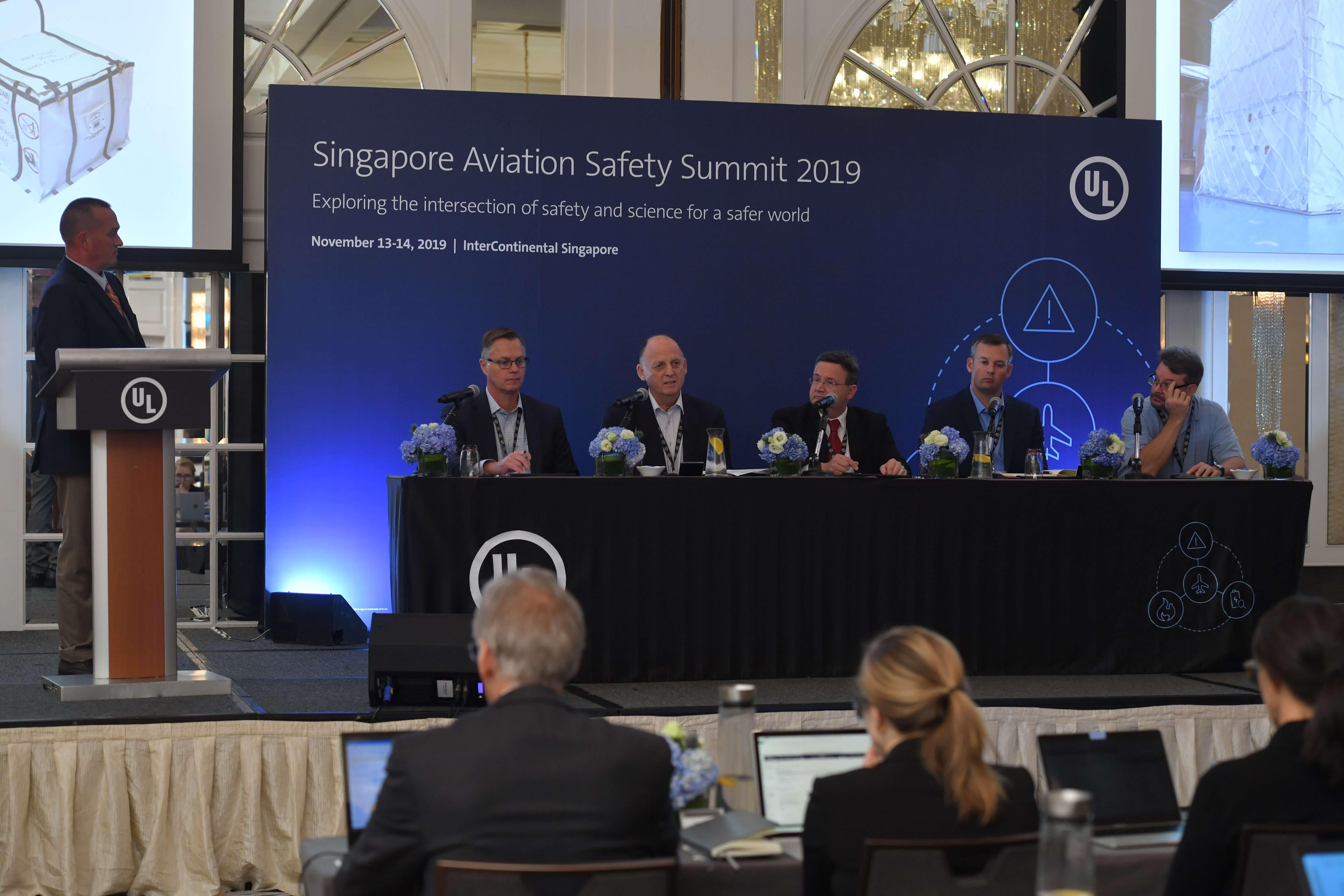 UL Organized Safety Summit Examines Dangerous Cargo and Hazardous Materials in Aviation