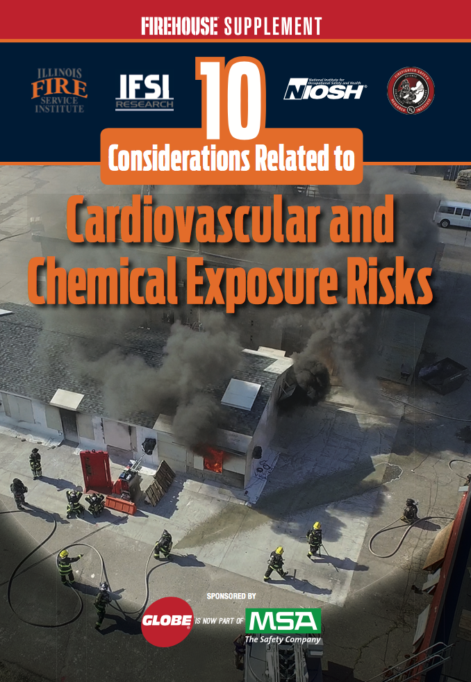 Firehouse Supplement Highlights 10 Considerations for Reducing Firefighter Exposures