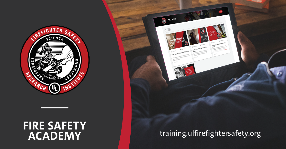 UL FSRI Launches Fire Safety Academy