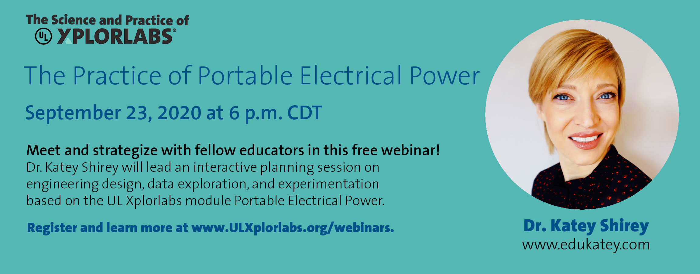 Webinar - The Practice of UL Xplorlabs: Portable Electrical Power