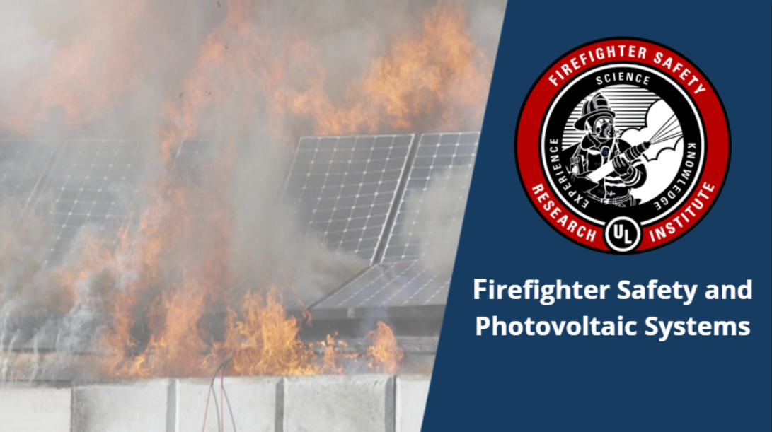 UL FSRI Firefighter Safety Training Course on Photovoltaic Systems Now Available
