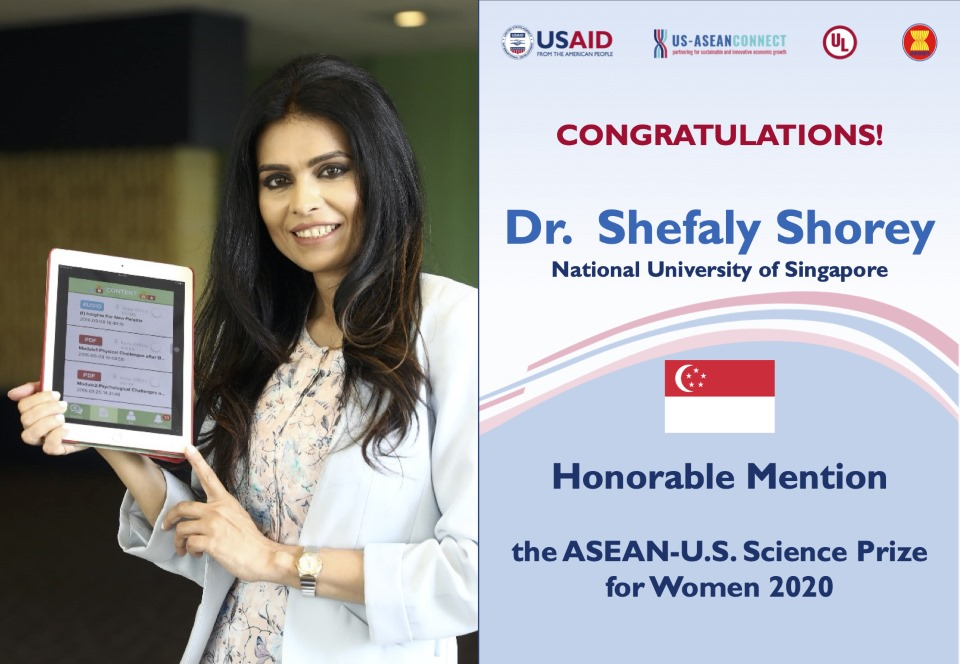 Honorable Mention - Dr. Shefaly Shorey