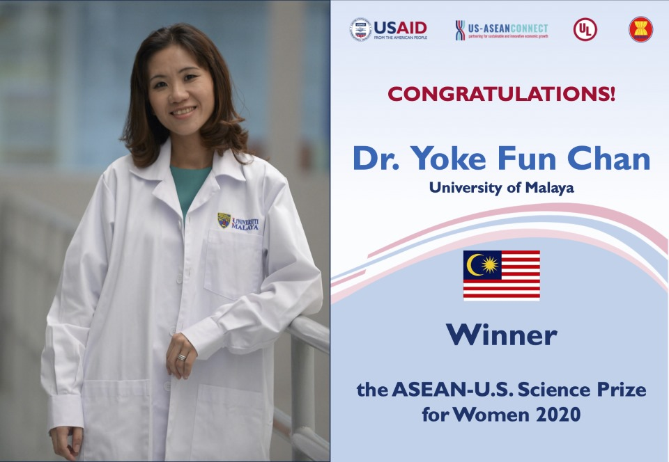 Winner - Dr. Yoke Fun Chan