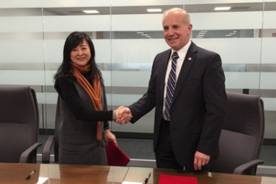Partnership agreement signed with Chinese standards development organization